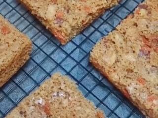 红枣枸杞蛋糕,完成