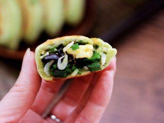 鹅蛋韭菜翠玉盒子,吃上一口超级满足。