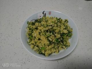 香椿炒小米