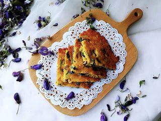 藤萝花饼,吃下整个春天,成品。