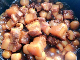 红烧肉,最后收汤