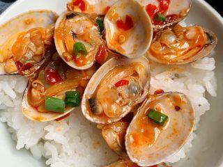 辣炒花蛤,超级好吃