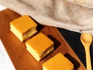蜂蜜古早蛋糕,成品1