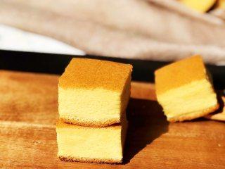 蜂蜜古早蛋糕,成品2