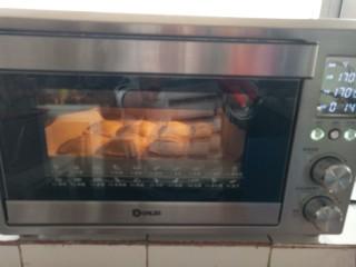 吐司苹果派,170度烤15分钟