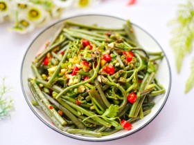 春天要吃的蕨菜,能降低血压,但是不宜吃太多