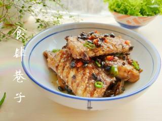 豆豉带鱼(不腥的窍门),出锅装盘!