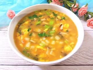 土豆疙瘩汤,成品图