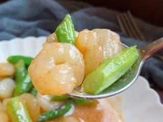 芦笋炒虾仁,好好吃!