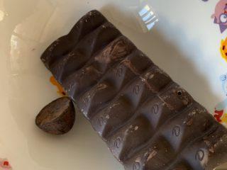 巧克力纸杯蛋糕,融化