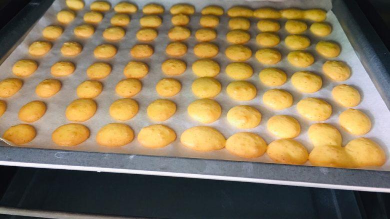 蛋黄小饼干,新鲜出炉啦!