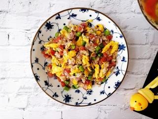 营养又美味的芦笋蛋炒饭