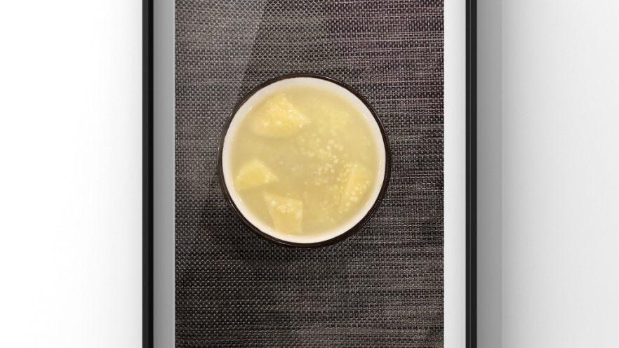 银耳苹果莲藕粥