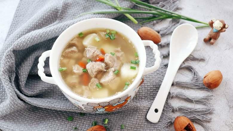 山药羊肉汤