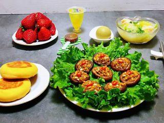 蒜蓉蚝油香菇,普通食材用心去做就会有意想不到的收获