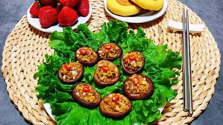 蒜蓉蚝油香菇