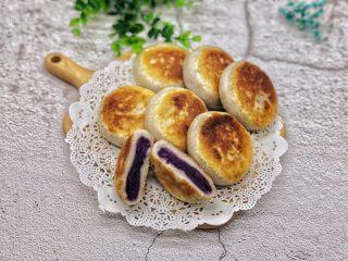土豆紫薯饼,味道真是太好吃了,我一口气吃了三个也不腻。