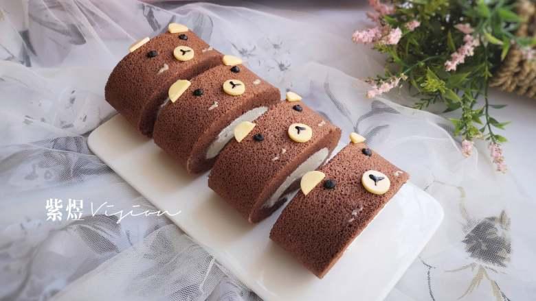 小熊熊蛋糕卷