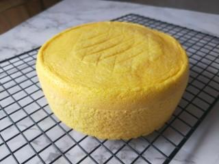 南瓜蒸蛋糕,蒸蛋糕就做好了