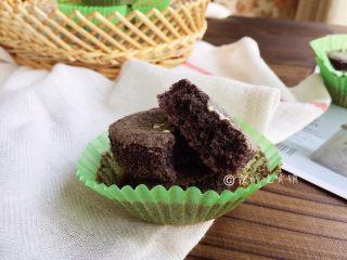 黑米蜂蜜小蛋糕
