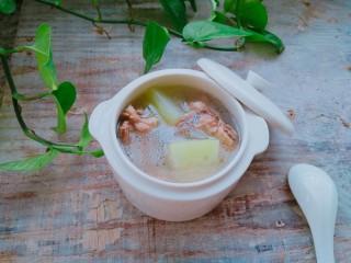 冬瓜排骨汤,成品图