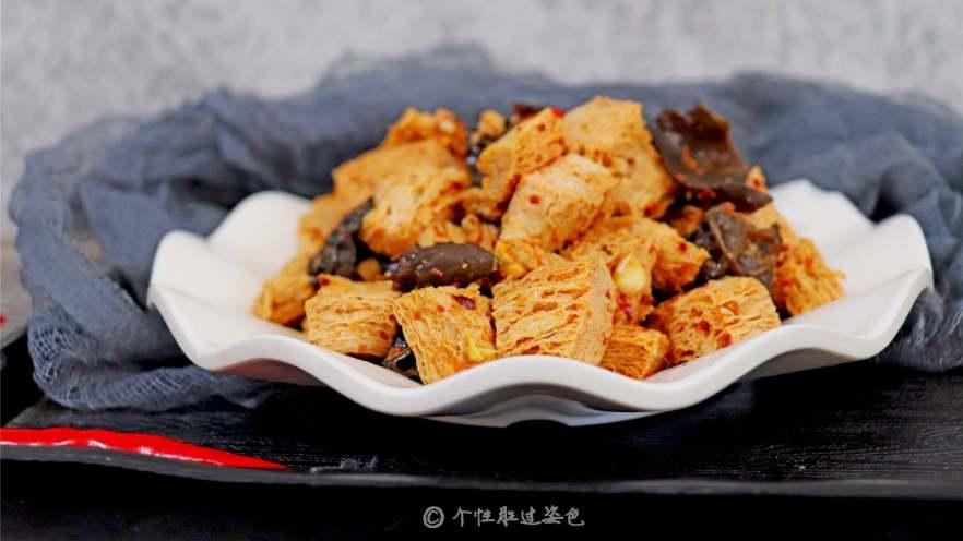 凉拌冻豆腐