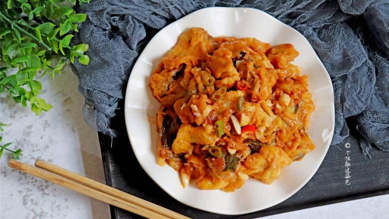 糖醋茄子,来上一盘独特的糖醋茄子,美味可口,脆皮嫩滑,特好吃,营养又健康!
