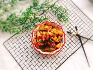 土豆炖排骨,成品图