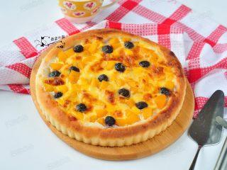 黄桃芝士披萨