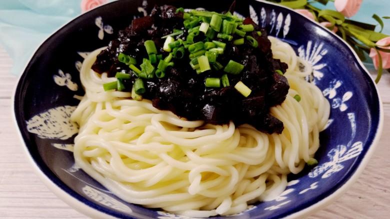 韩国黑豆酱炸酱面