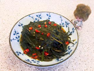 朝鲜风味小菜  香辣苏子叶