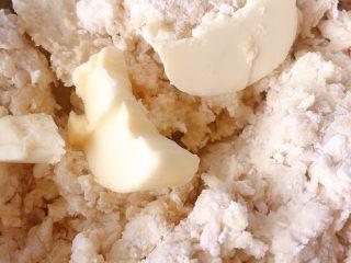 山药饼,加入黄油