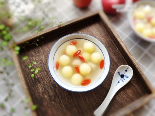 蜂蜜苹果糯米圆