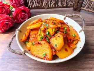 香辣土豆,成品图三