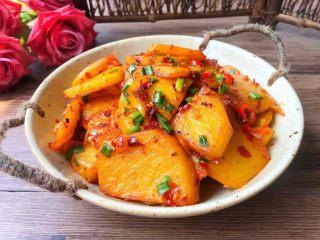 香辣土豆,成品图二