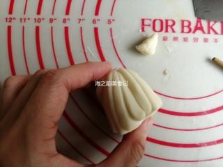 漩涡馒头卷,然后把筷子抽出来