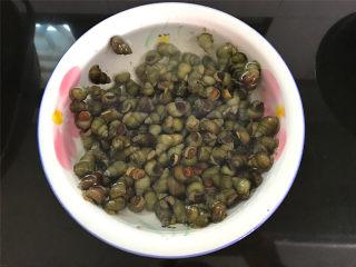 酱爆香辣螺蛳,买来的螺蛳放在一个盆里,滴上几滴菜油,再静养上几小时,会将体内的脏东西还有小螺蛳之类的东西吐出来的。