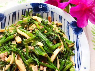 里脊肉香干水芹菜,清爽好吃