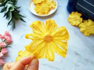 菠萝花,从此一家人都爱上了菠萝干。