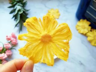 菠萝花,成品。