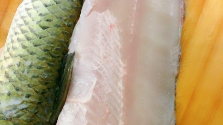 酸菜鱼,这个是片下来的鱼