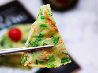 菠菜早餐饼