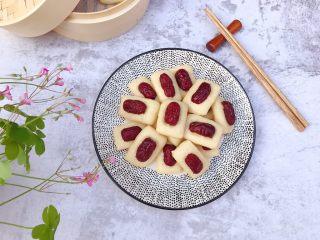 奶香红枣米糕