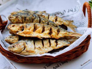 干炸海鲫鱼,香酥可口又好吃的海鲫鱼出锅咯。