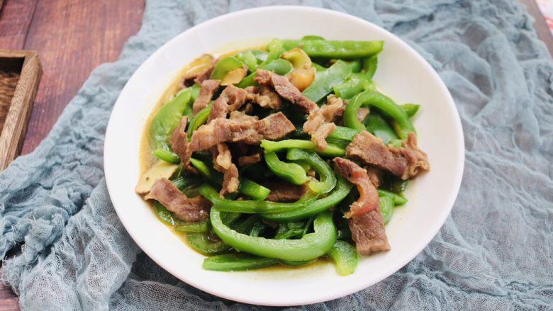 快手小炒——青椒炒牛肉