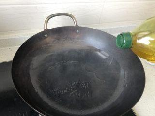 港式XO酱炒饭,热锅冷油。