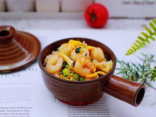 黄瓜虾仁杂粮蛋炒饭