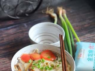 菌菇汤面,特别好吃。