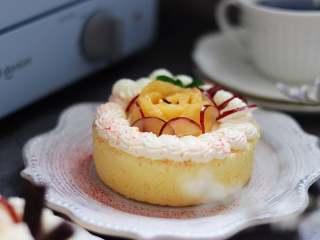 四寸水果奶油夹心蛋糕(海绵蛋糕)