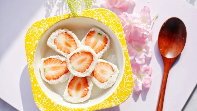 甜糯小可爱草莓大福,开吃!